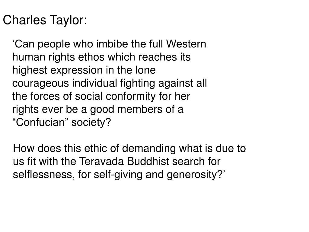 Charles Taylor: