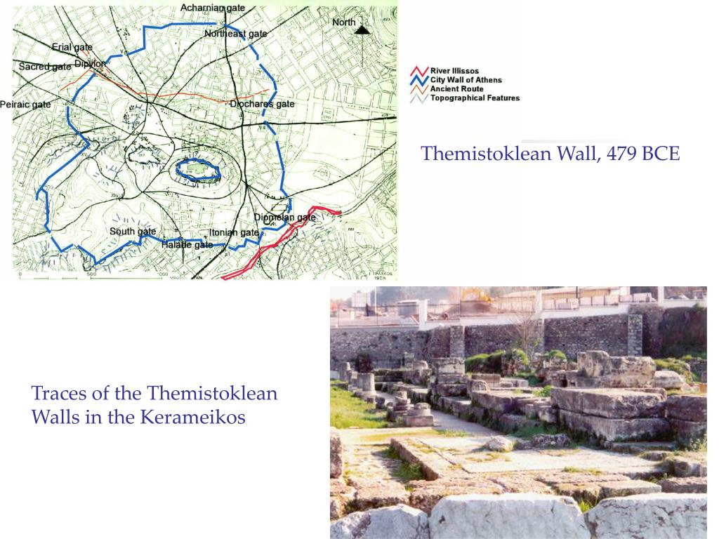 Themistoklean Wall, 479 BCE