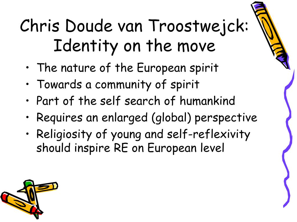 Chris Doude van Troostwejck: Identity on the move