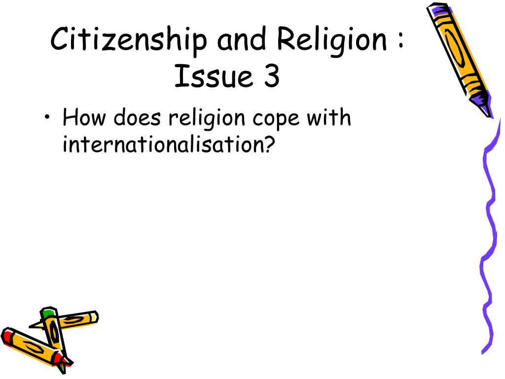 Citizenship and Religion : Issue 3