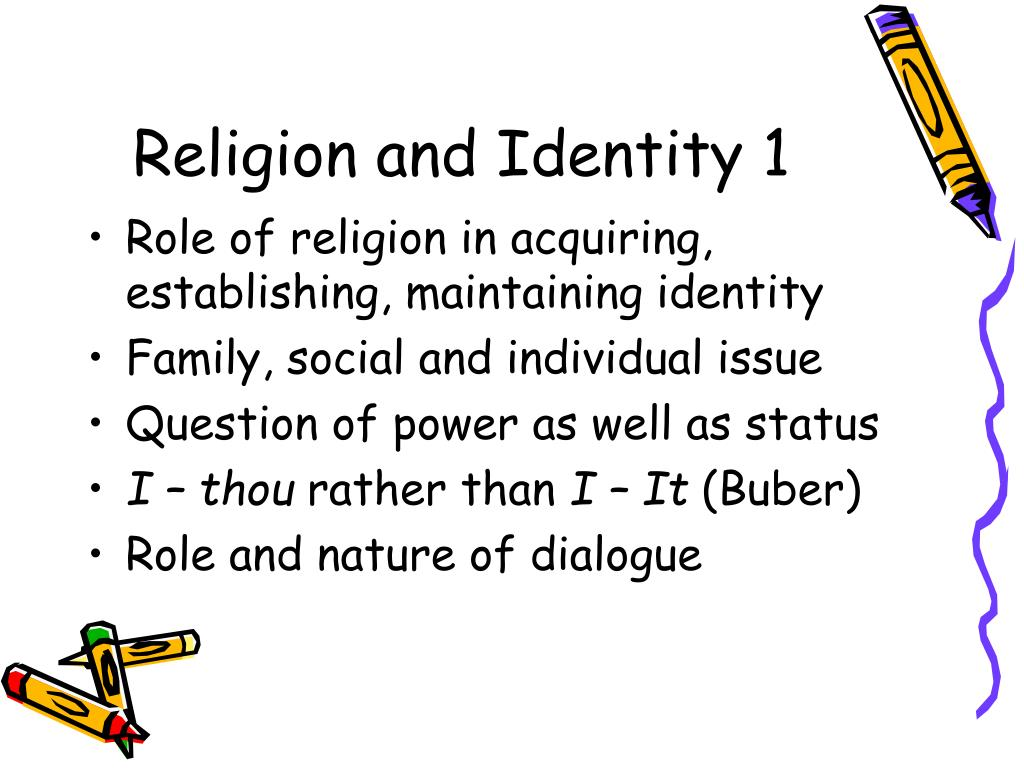Religion and Identity 1