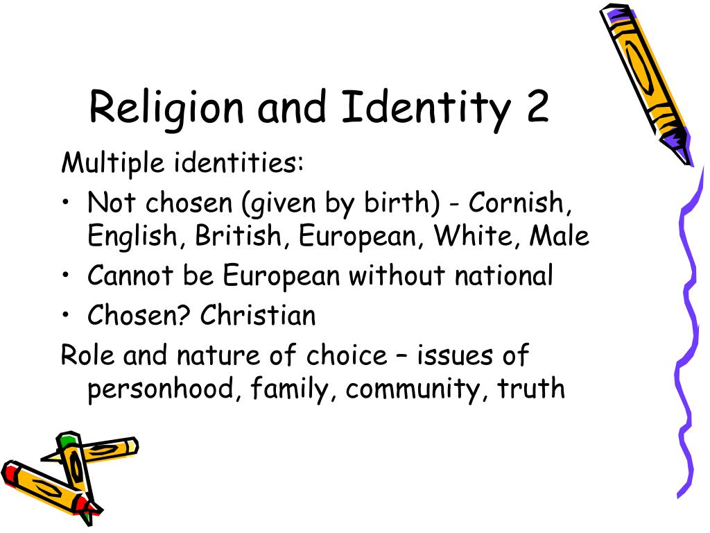 Religion and Identity 2