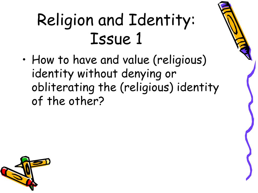 Religion and Identity: Issue 1