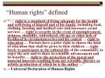 human rights defined6
