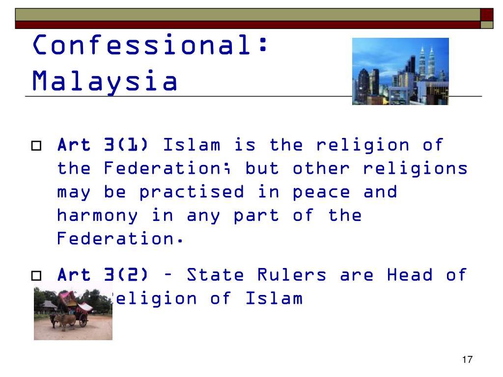 Confessional: Malaysia