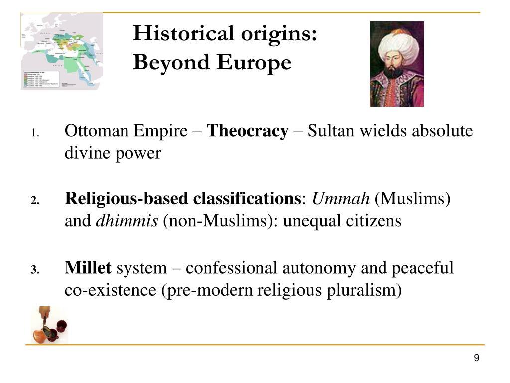 Historical origins: