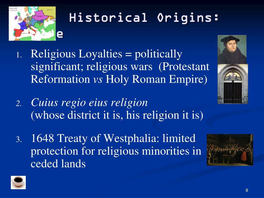 Historical Origins: Europe