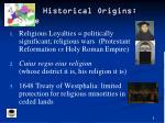 historical origins europe