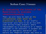 serban case 3 issues83