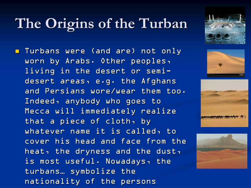 The Origins of the Turban