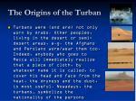 the origins of the turban