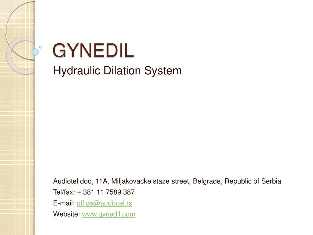 GYNEDIL