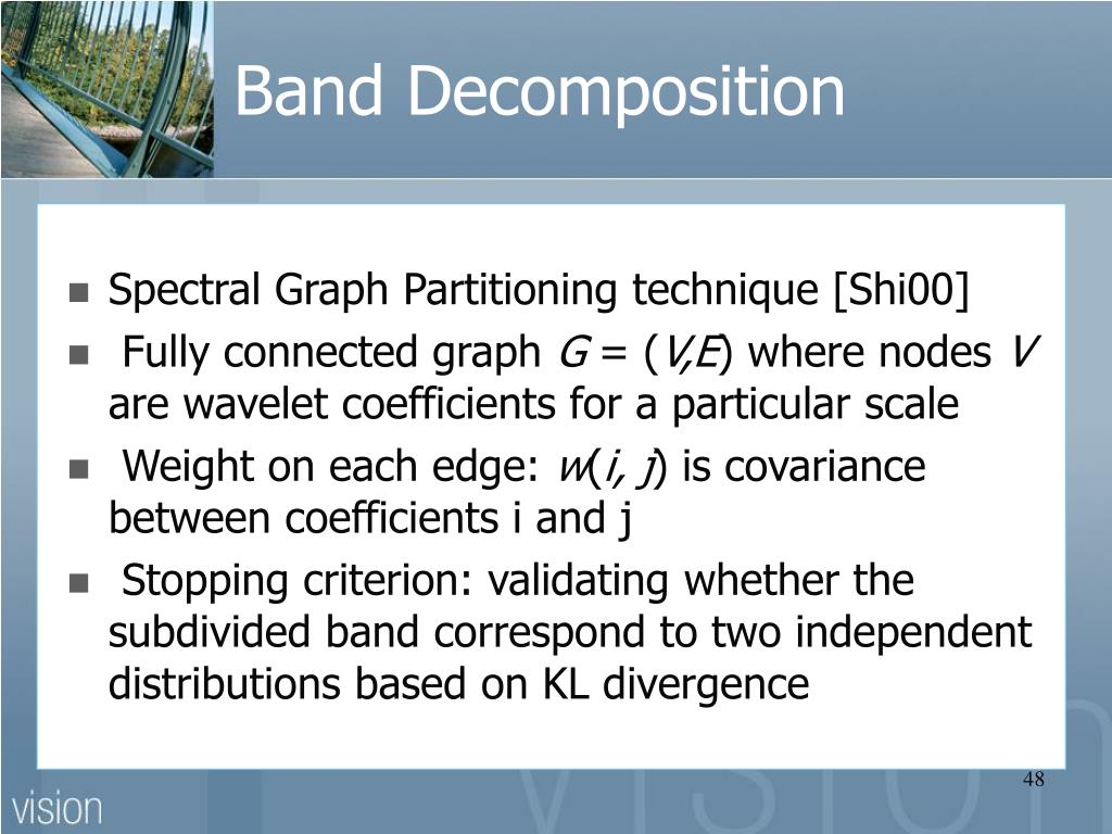 Band Decomposition