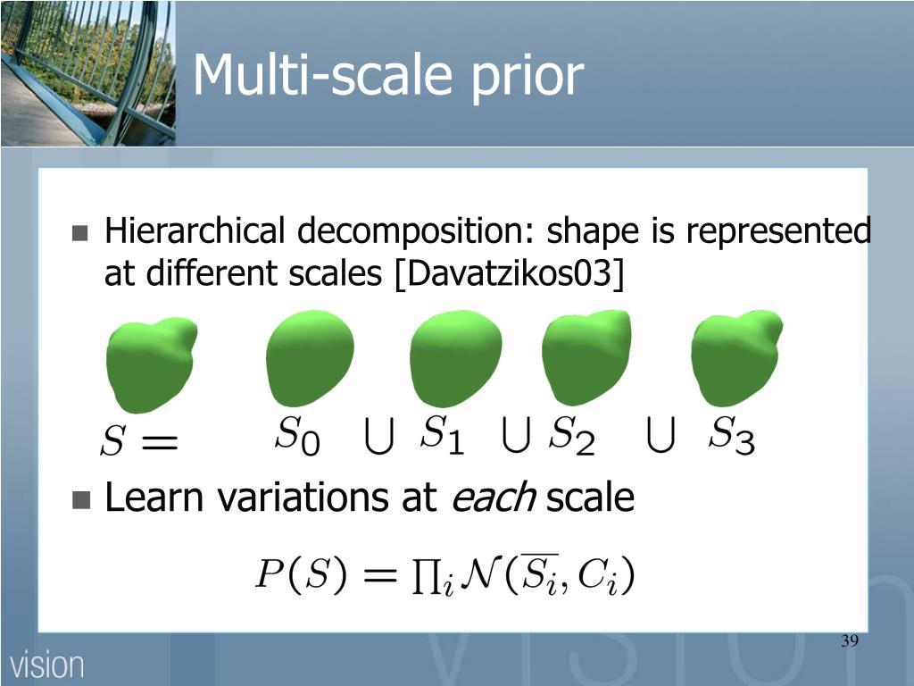 Multi-scale prior