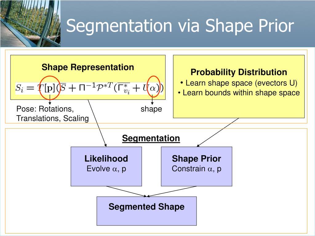 Segmentation via Shape Prior
