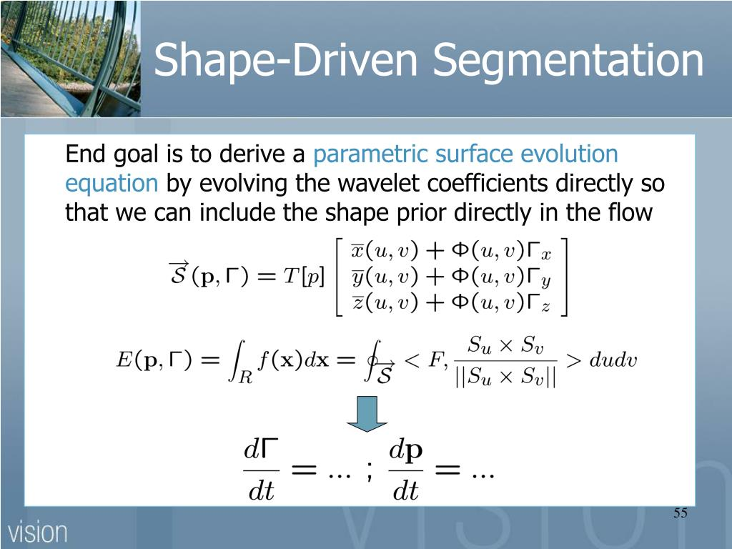 Shape-Driven Segmentation