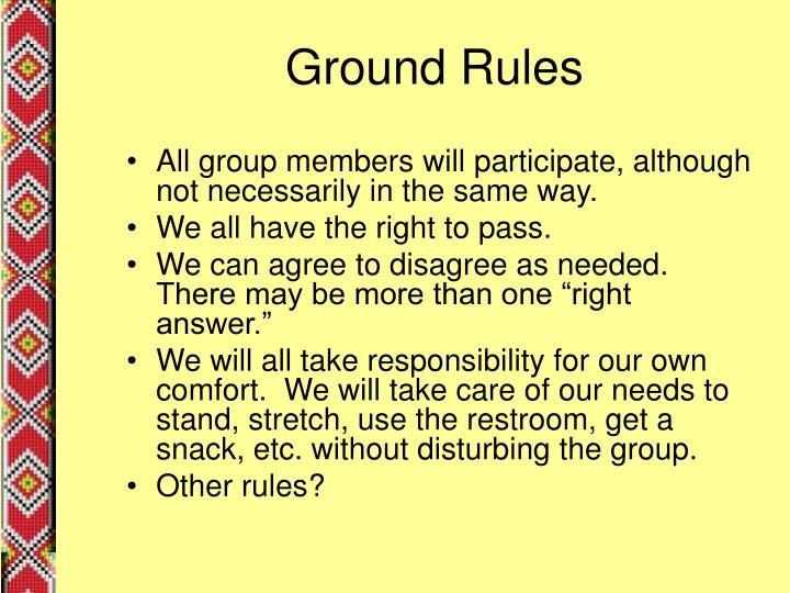 Ground rules3
