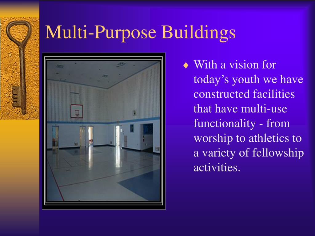 Ppt hanover building systems church facilities for Multi purpose building plans