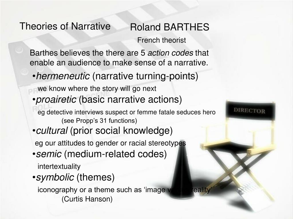 Theories of Narrative