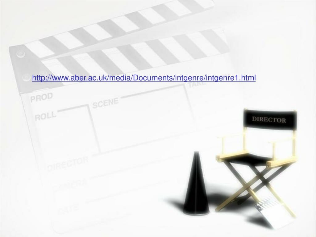 http://www.aber.ac.uk/media/Documents/intgenre/intgenre1.html