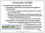 introduction to flight11