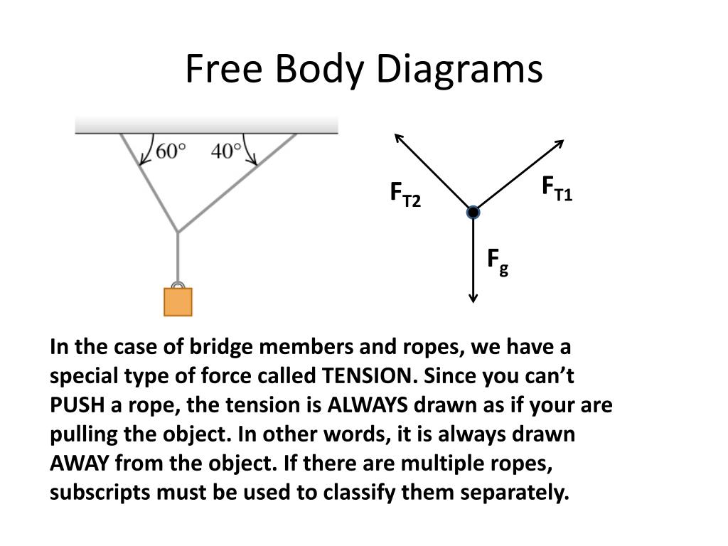 Free Body Diagrams