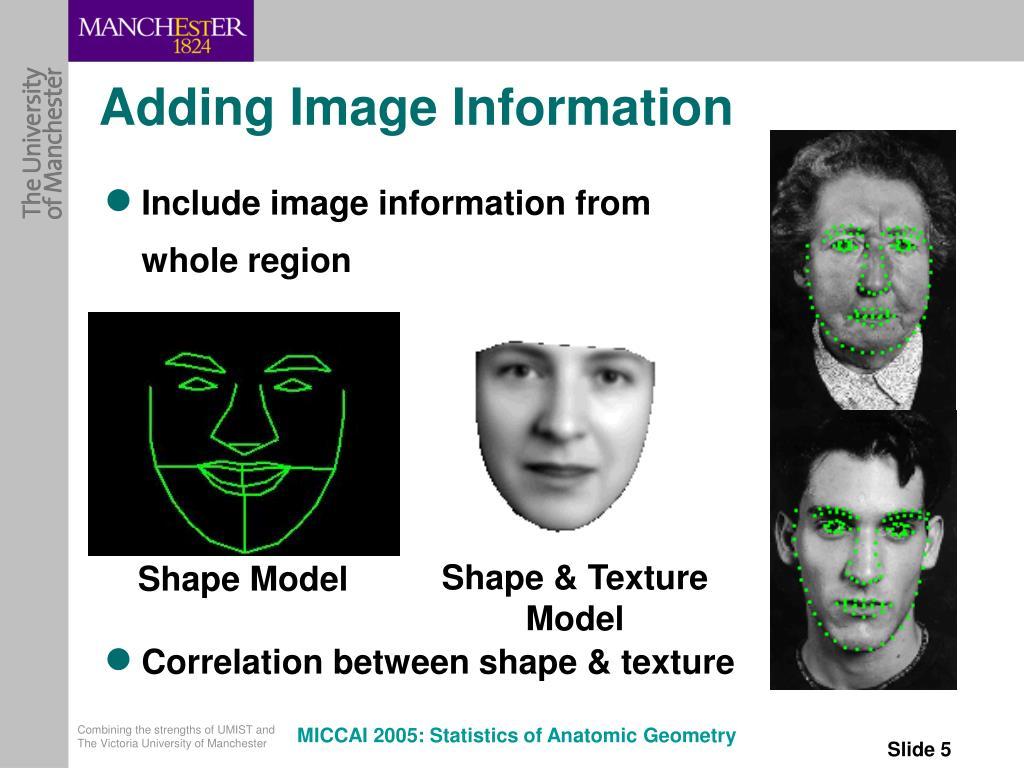 Adding Image Information