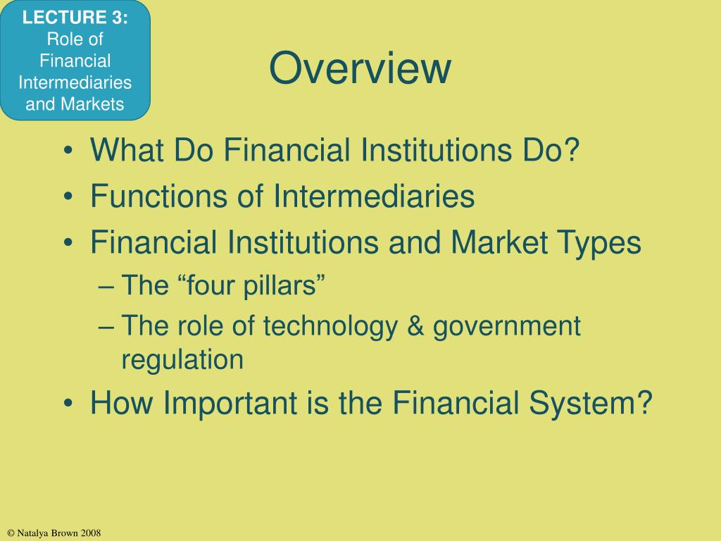 economic functions financial intermediaries perform Frbny economic policy review / july 2012 1 the evolution of banks and financial intermediation: framing the analysis 1introduction hile the.