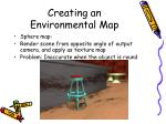 creating an environmental map