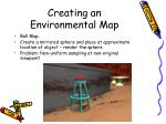 creating an environmental map19