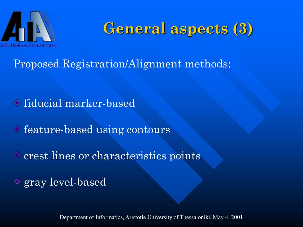 General aspects (3)