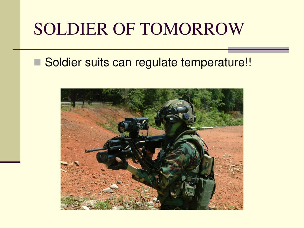 SOLDIER OF TOMORROW