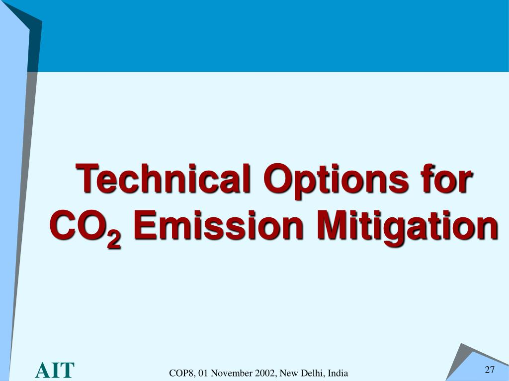 Technical Options for CO