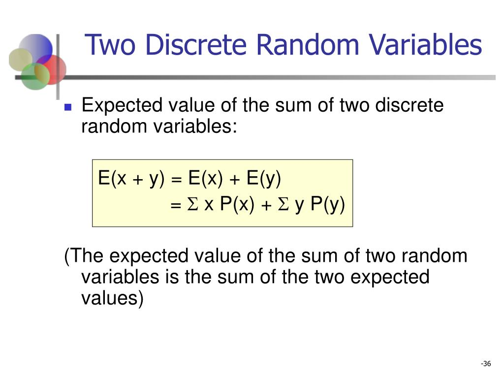 Two Discrete Random Variables