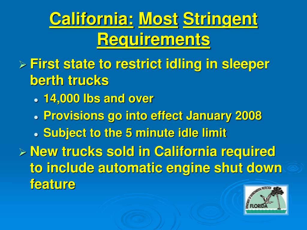 California: