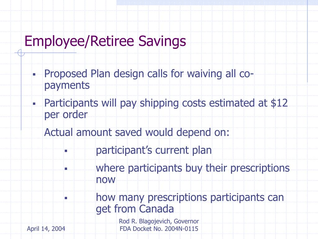 Employee/Retiree Savings