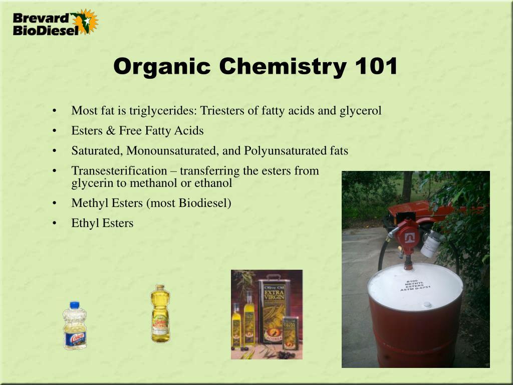 Organic Chemistry 101