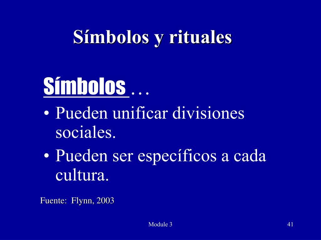 Símbolos y rituales