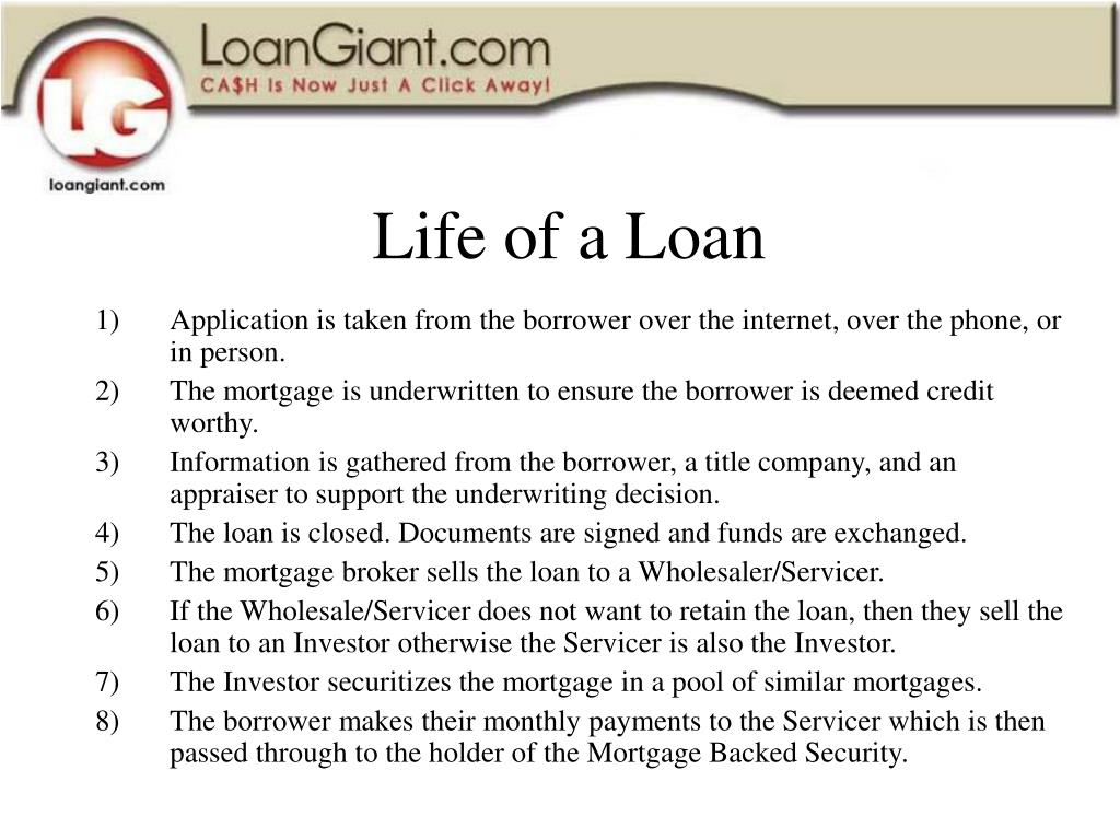 Life of a Loan