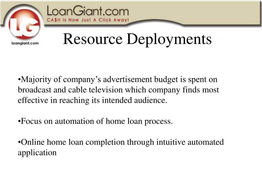 Resource Deployments