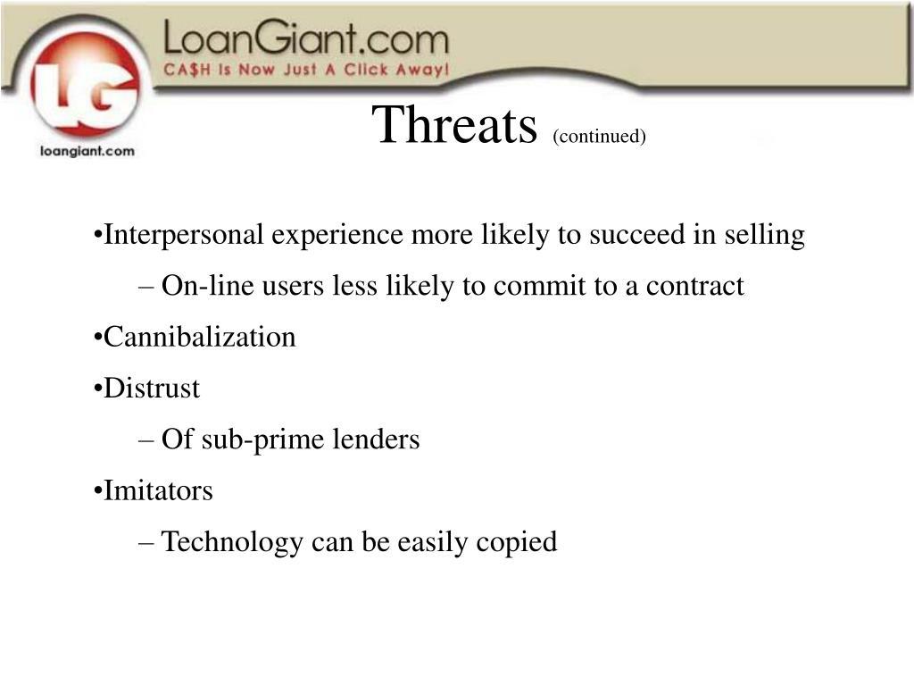 Threats