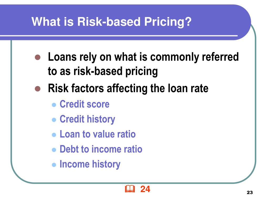 What is Risk-based Pricing?