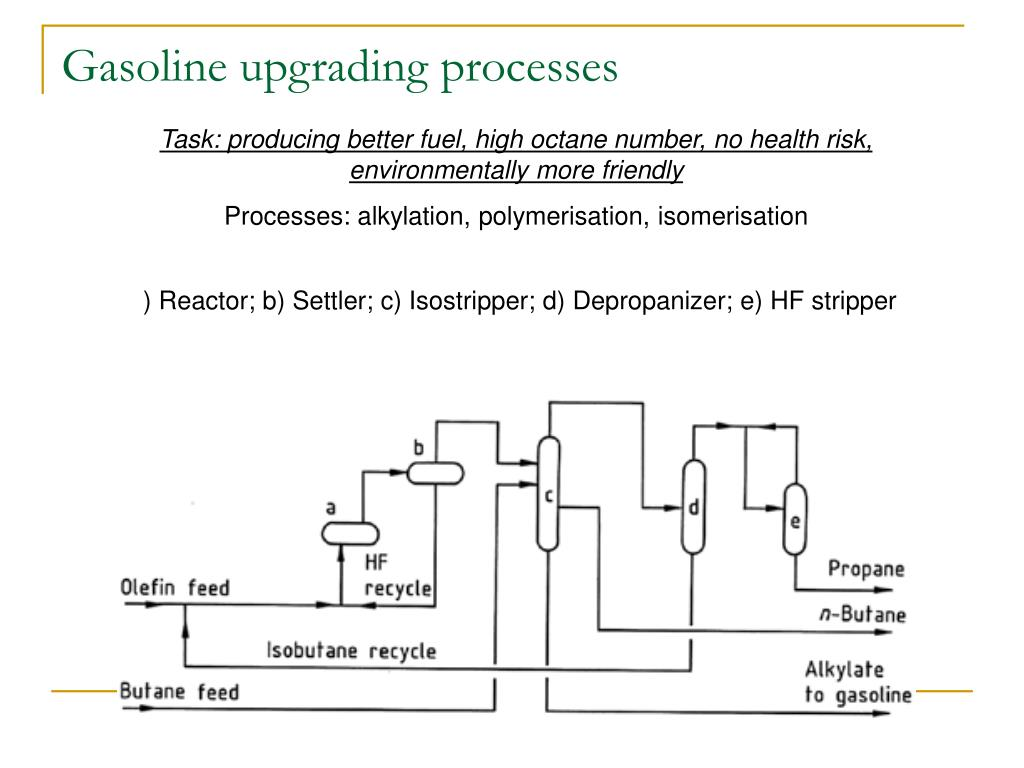 Gasoline upgrading processes