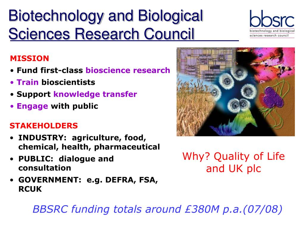 Biotechnology and Biological Sciences Research Council