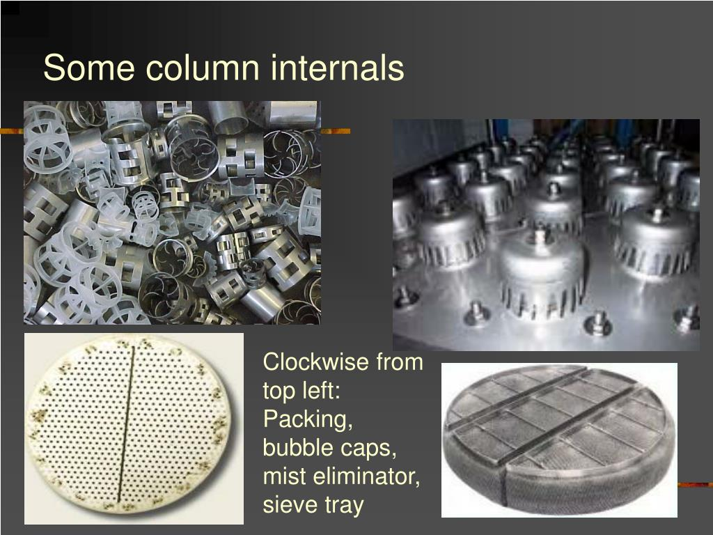 Some column internals
