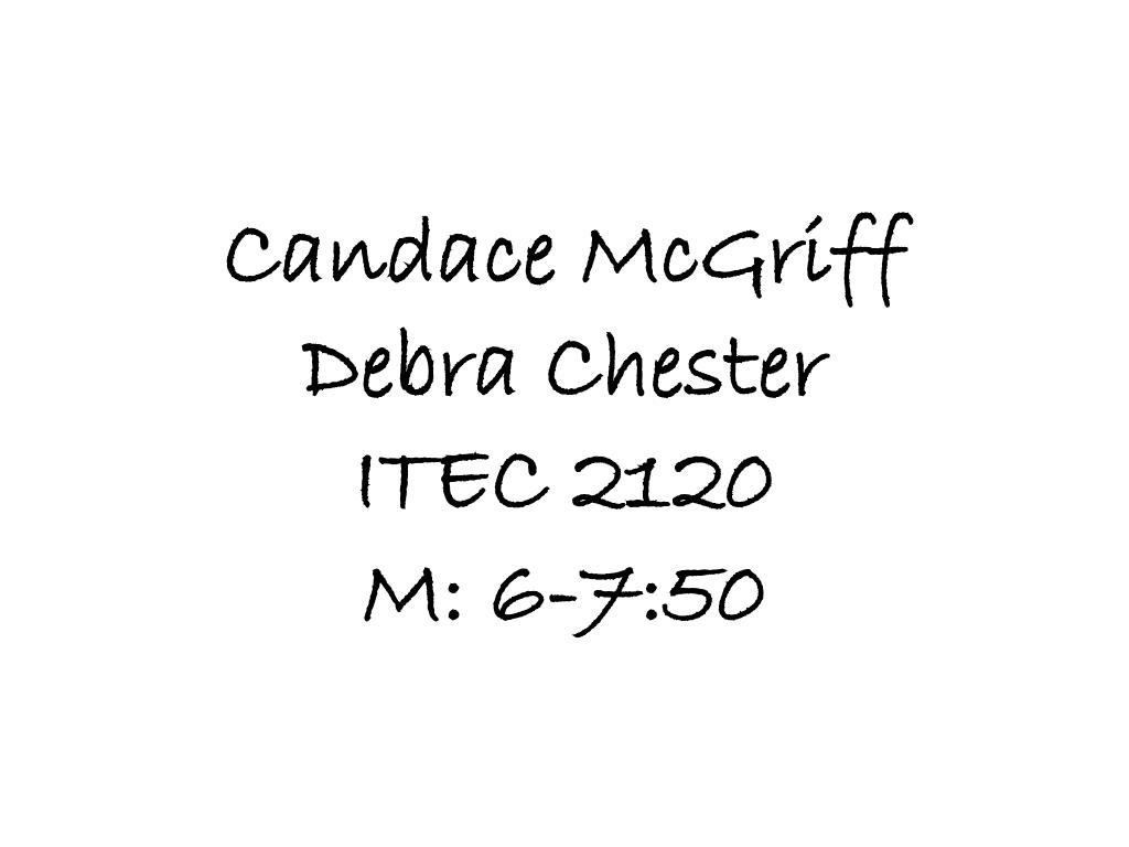 Candace McGriff