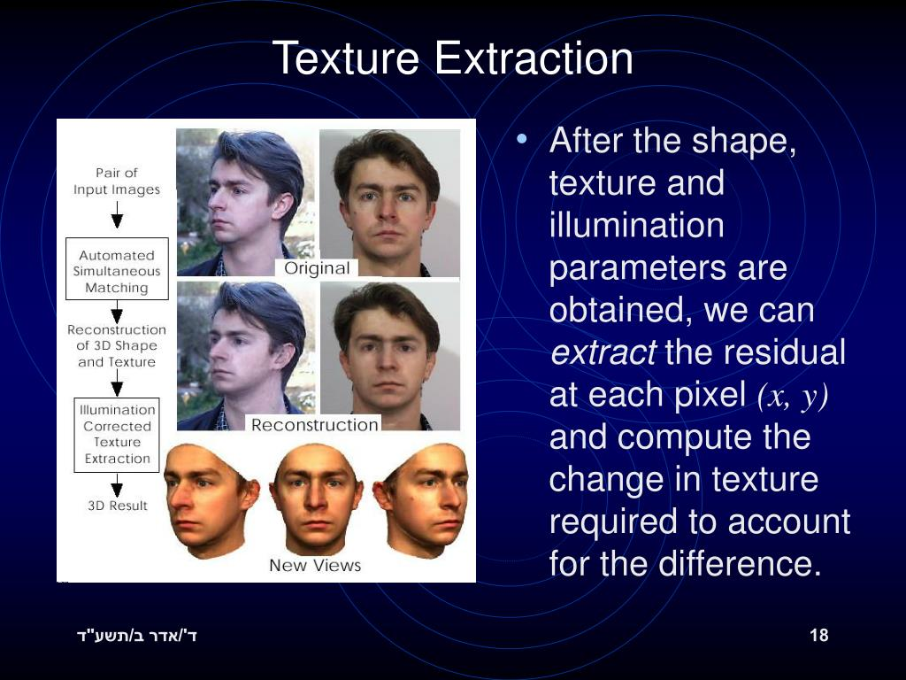 Texture Extraction