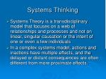 systems thinking18