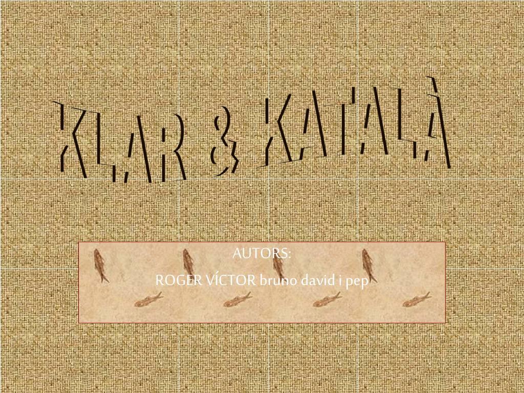 KLAR & KATALÀ