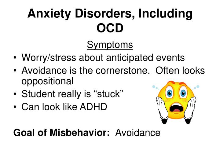 Anxiety Disorders, Including OCD